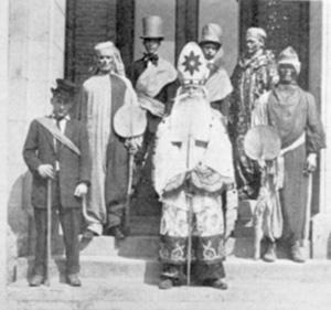 St. Pat's in 1911.