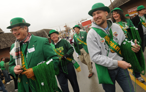 Learn who is a Student Knight, Queen candidate and Honorary St. Pat
