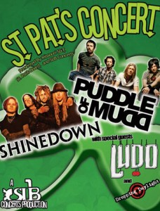 Puddle of Mudd to appear in Rolla