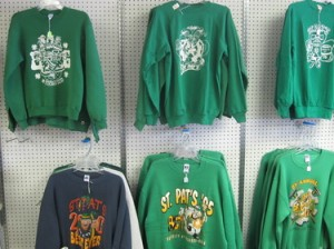 Friday the 13th, gastronomics, and St. Pat's sweatshirts