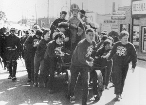 St. Pat celebrations in 1985.